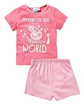 Peppa Pig Girls Pyjama Short Set