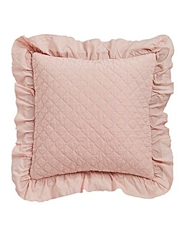 Ruffle Filled Cushion 45 x 45cm