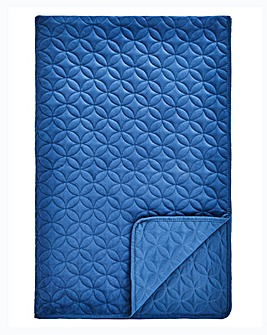 Velvet Quilted Throw 150 x 200cm
