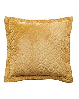 Velvet Square Filled Cushion 43 x 43cm