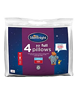 Silentnight So Full 4 Pack Pillows