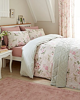 Lorena Blush Duvet Cover Set