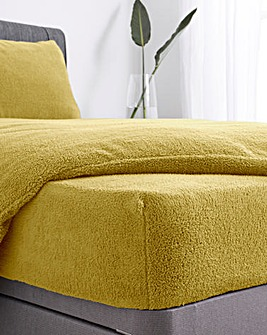 Supersoft Cuddle Fleece 30cm Fitted Sheet