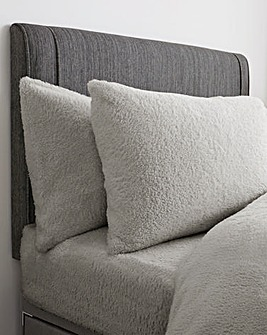 Supersoft Cuddle Fleece Housewife Pillow Case Pair