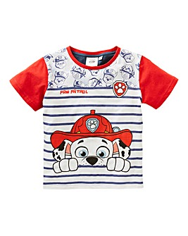 Paw Patrol Boys Stripe T-Shirt