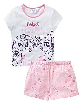 My Little Pony Girls Pyjama Short Set