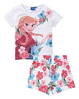 Frozen Girls Pyjama Short Set