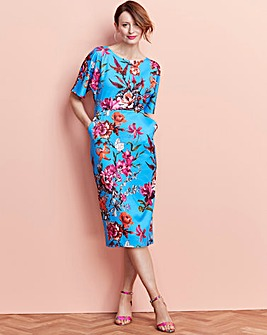 Printed Bodycon with Pockets