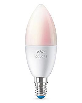 WiZ Wi-Fi Colour & Tunable White E14 LED Smart Bulb