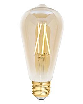 4LITE ST64 Filament Bulb Amber E27