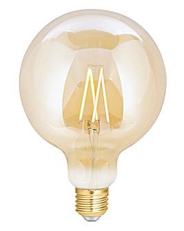 4LITE G125 Filament Bulb Amber E27
