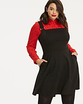 Black Ponte Pinafore