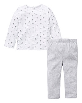 KD Baby Unisex T-Shirt & Legging Set