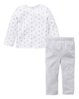 KD Baby Unisex T-Shirt & Legging Set