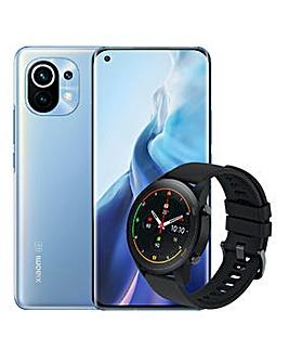 XIAOMI Mi 11 Horizon Blue 128GB AND FREE Mi Watch