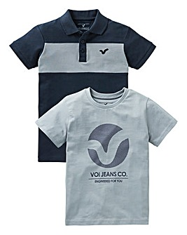Voi Boys Polo & T-Shirt Pack