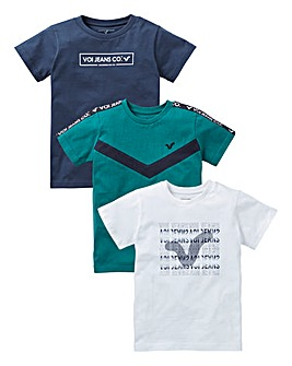 Voi Boys Pack of Three T-Shirts