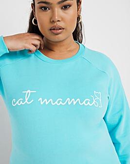 Cat Mum Sweatshirt