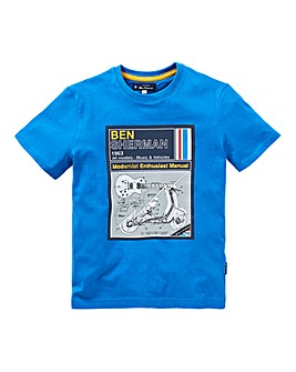 Ben Sherman Boys Manual T-Shirt