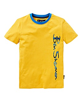 Ben Sherman Boys Vertical T-Shirt