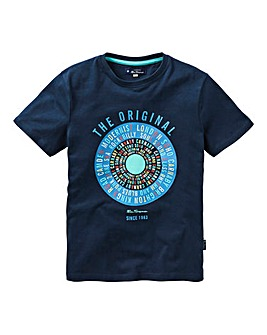 Ben Sherman Boys Text Target T-Shirt