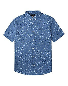 Ben Sherman Boys Micro Flag Shirt