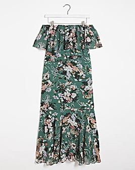 Lovedrobe Floral Bardot Dress