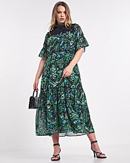 Hope & Ivy Piper Midi Dress