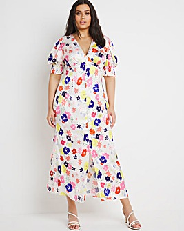 Chi Chi London Sweetheart Midi Dress