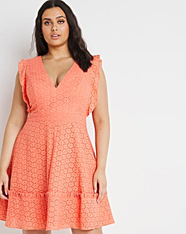 Chi Chi London Embroidery Mini Dress