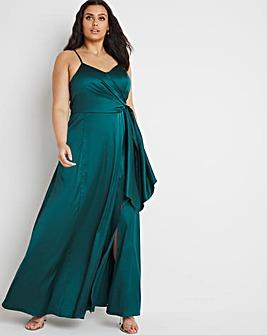 Chi Chi London Wrap Maxi Dress