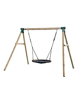 Plum Spider Monkey 2 Wooden Garden Swing