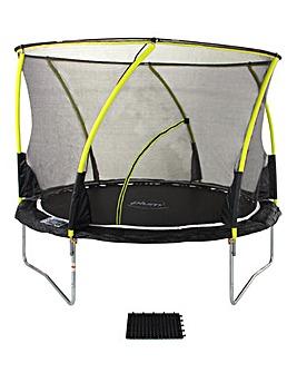 Plum 8ft Whirlwind Trampoline