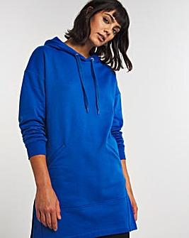 Light Blue Longline Hoodie