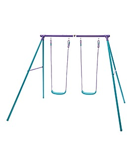 Plum Metal Sedna II Swing Set