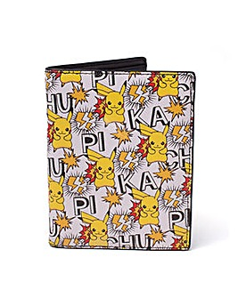 POKEMON All-Over Pikachu Bi-fold Wallet