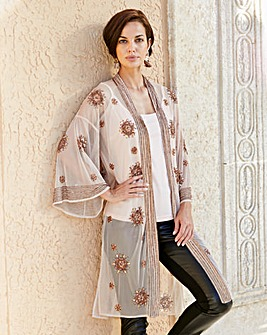 Joanna Hope Beaded Kimono