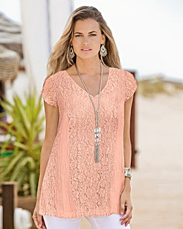 Together Pink Lace Top