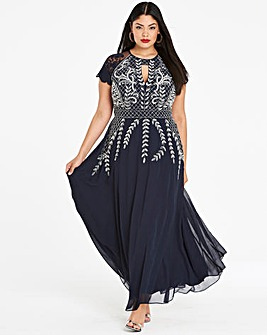 a36a8353cb1aa Joanna Hope Beaded Maxi Dress