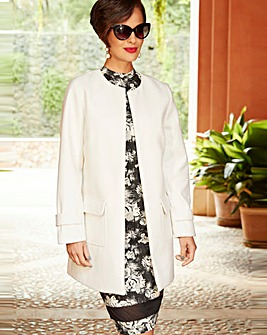 Joanna Hope Edge to Edge Coat