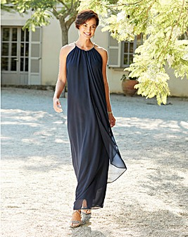 Joanna Hope Navy Swing Maxi Dress