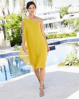 Joanna Hope Jewel Trim Dress