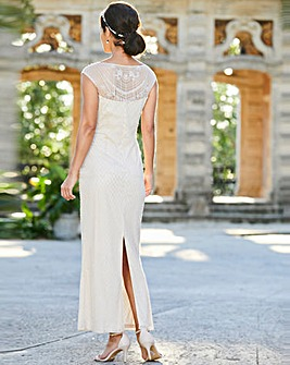 Joanna Hope Bridal Beaded Maxi Dress