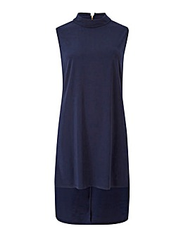 Joanna Hope Navy Jersey Tunic