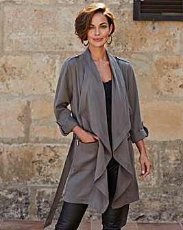 Joanna Hope Luxury Tencel 3/4 Jacket