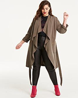 Joanna Hope Luxury Tencel 3/4 Jacket