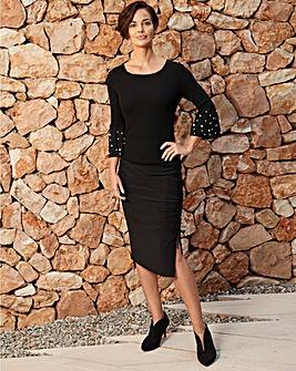 Joanna Hope Ruched Skirt