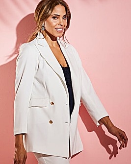 Joanna Hope Ivory Tailored Blazer
