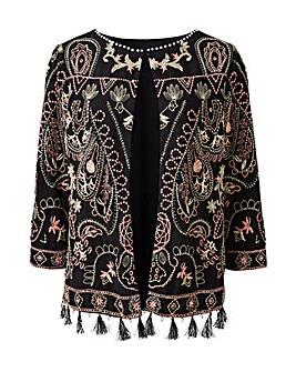 Joanna Hope Embroidered Jacket