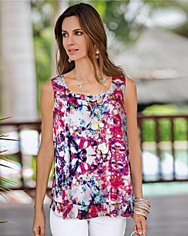 Together Floral Jersey Top